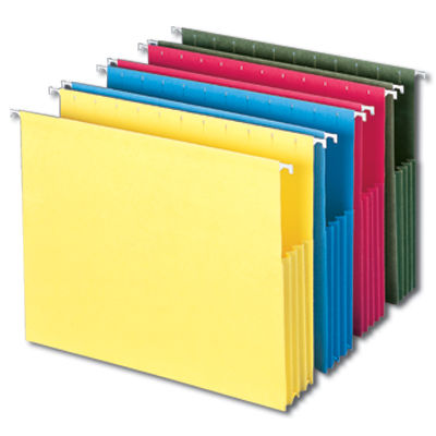 Smead Hanging Pocket Folders