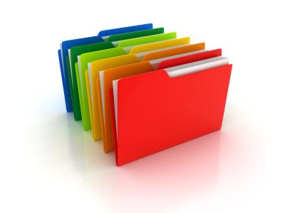 Istock Colored Folders Organize Sort